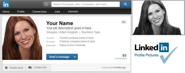 Profil Picture LinkedIn (headshotsglasgow.com)