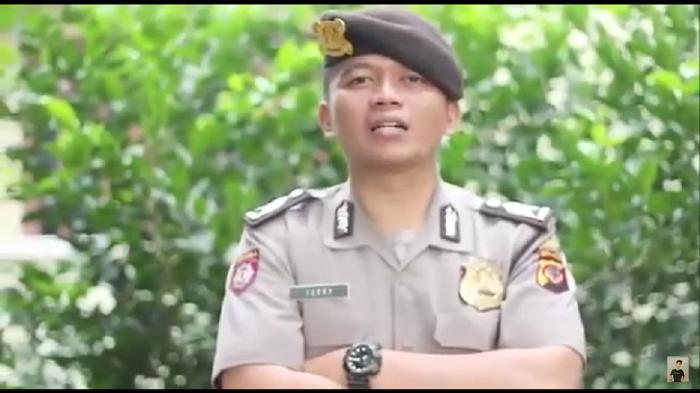 Polisi Bikin Video Rap Tahu Bulat Jadi Berita