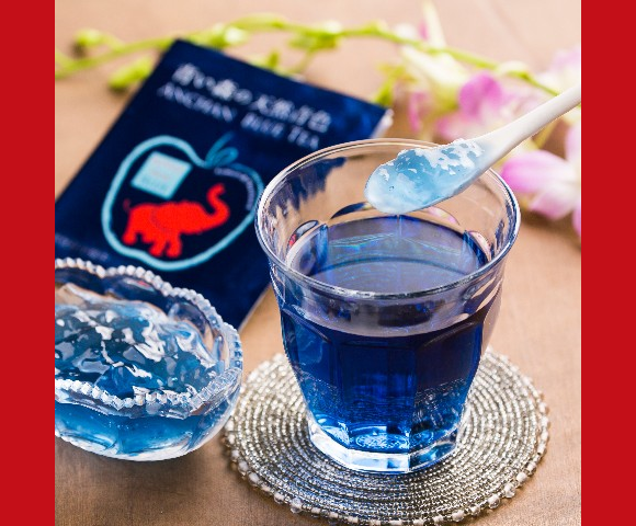 Anchan Blue Tea (Rocketnews24)