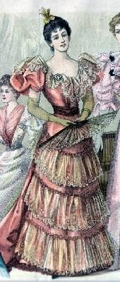 Ilustrasi wanita Italia membawa kipas (Angelpig)