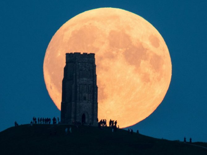 Supermoon (ABC News)