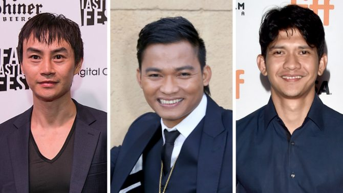 Tony Jaa, Tiger Chen dan Iko Uwais (Hollywood Reporter)