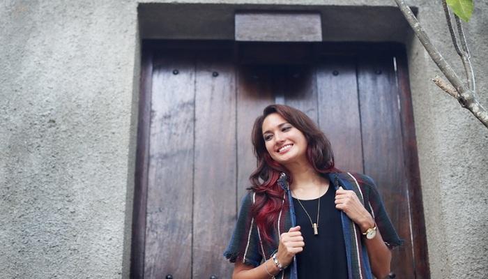 Bangganya Nadine Chandrawinata Capai Puncak Tertinggi di Indonesia