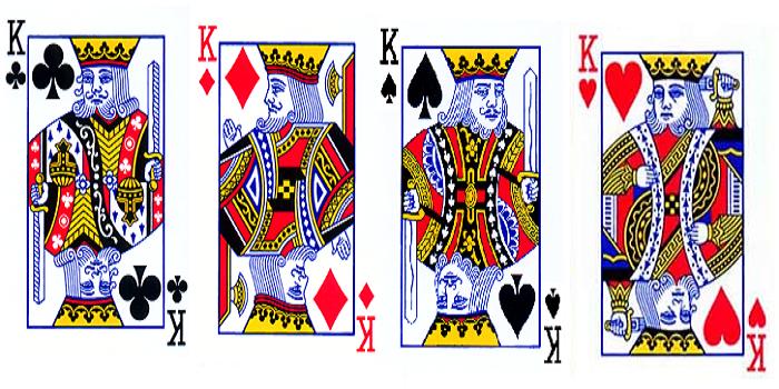 Ternyata Sosok Raja di Kartu Remi Ada Sosok Aslinya