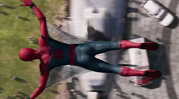 Spider-Man terbang (Screencrush)