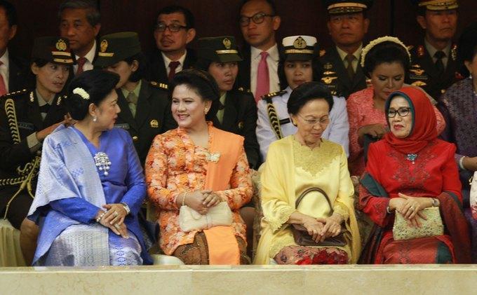 Deretan Potret Ibu Negara di Indonesia dari Masa ke Masa, Siapa Favoritmu?