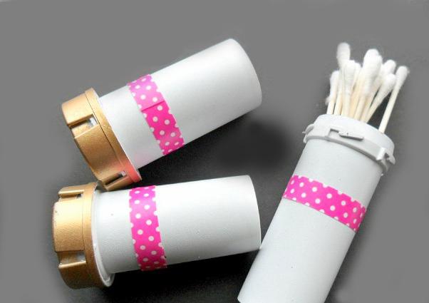 Cotton Buds Dalam Botol Pil Bekas (faithtap.com)