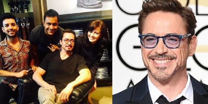 Super Mirip, Pria Ini Dianggap Robert Downey Jr di India