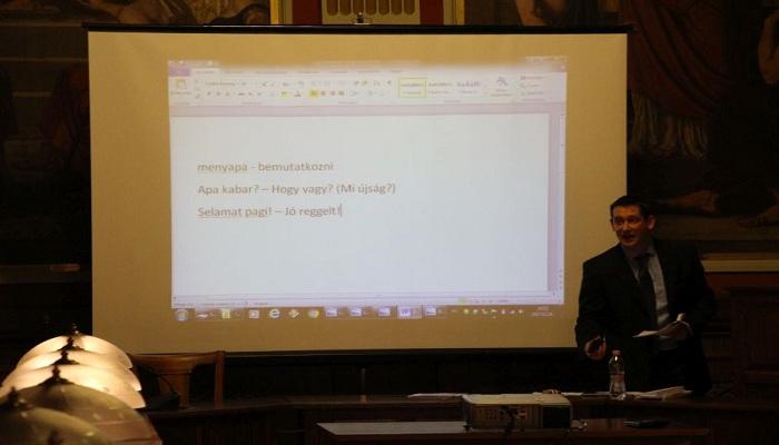 Bangga, Bahasa Indonesia Diajarkan di Universitas Hongaria