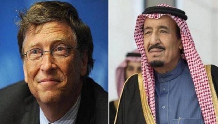 Raja Salman dan Bill Gates, Lebih Kaya Mana?