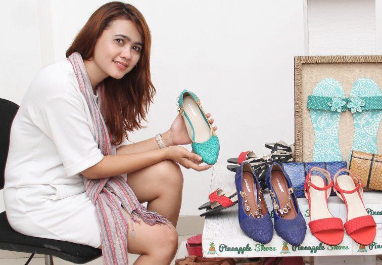 Buat Sepatu dari Kulit Ikan, Produk Wanita Cantik Asal Tangerang Ini Mendunia