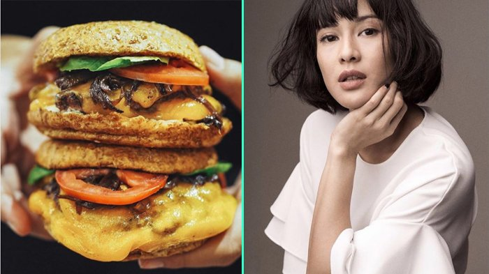 Ini Dia Burger Buatan Dian Sastro yang Bikin Ngiler