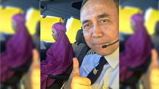 Aksi Kopilot Garuda Indonesia Shalat di Udara Jadi Berita