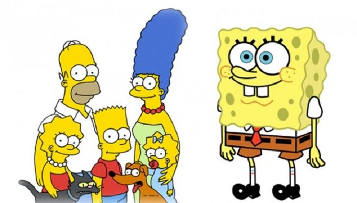 Kenapa Tokoh Spongebob dan The Simpsons Warnanya Kuning?