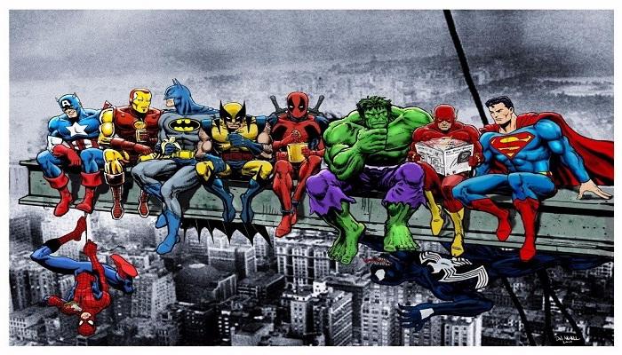 Tokoh Marvel dan DC Ini Ternyata Punya Nama yang Sama