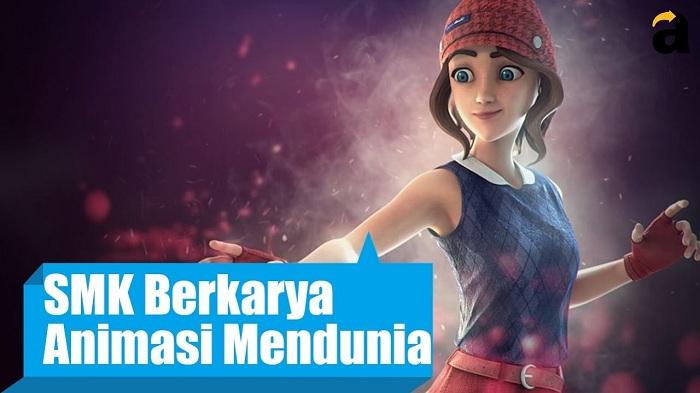 Keren, Film Animasi Buatan Anak SMK Banjarnegara Ini Sukses Mendunia