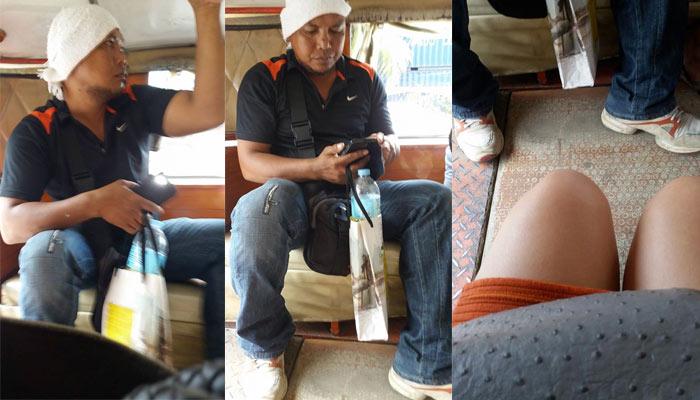 Cowok Hidung Belang Rekam Video Diam-Diam di Angkot Malah Jadi Berita