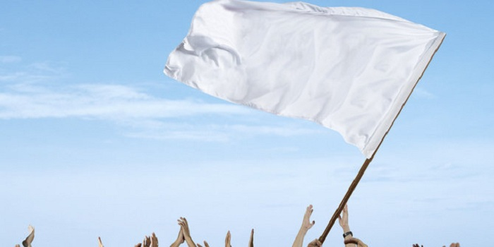 Kenapa Bendera Putih Identik dengan Menyerah?