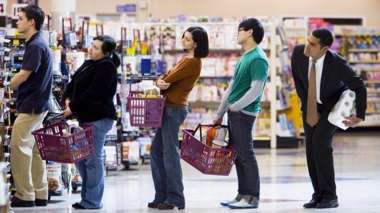 Tips Mengantre Saat Belanja di Supermarket Berdasarkan Ilmu Statistik