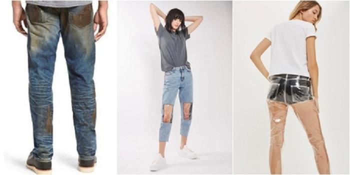5 Desain Celana Jeans yang Unik dan Nyeleneh