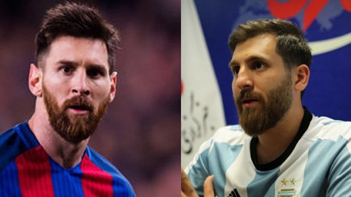 Super Mirip, Inilah 'Kembaran' Pesepakbola Lionel Messi