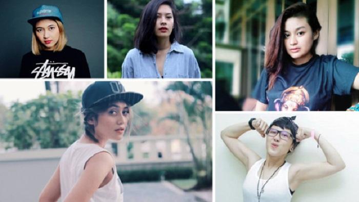 Tampil Garang, 5 Vokalis Band Indie Ini Ternyata Berparas Cantik