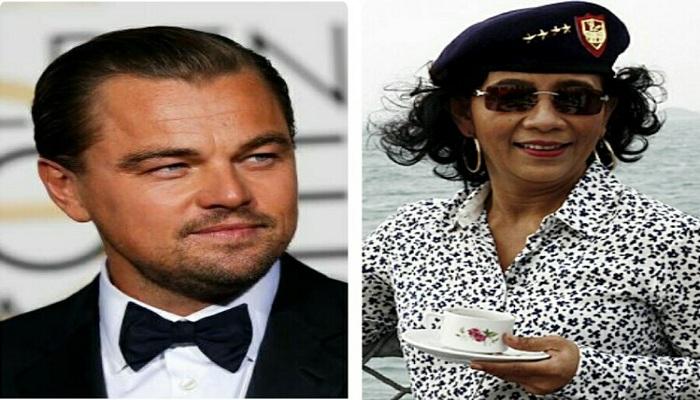 Pujian Setinggi Langit Leonardo DiCaprio untuk Menteri Susi Pudjiastuti