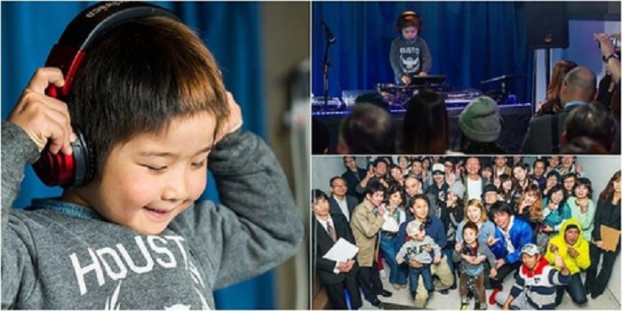 Masih 6 Tahun, Bocah Ini Sudah Jadi DJ Profesional