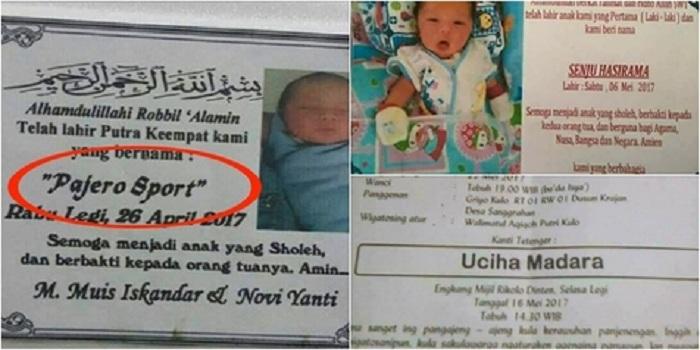 Unik dan Tak Lazim, 5 Nama Bayi Indonesia Ini Jadi Berita
