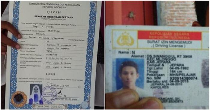Unik, 5 Orang Indonesia Ini Cuma Punya Nama 1 Huruf