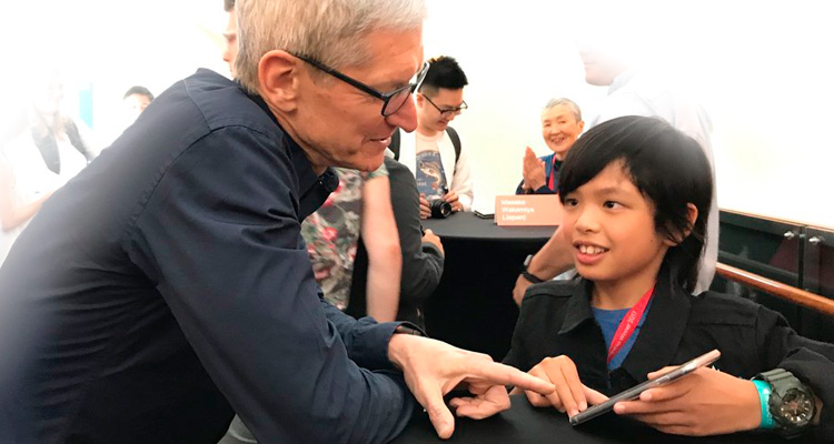 Aplikasi Buatan Bocah Asal Indonesia Pukau CEO Apple, Cerita Proses Pembuatannya Bikin Melongo