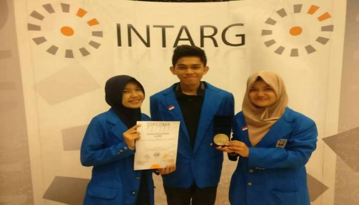 Bangga, Mahasiswa Indonesia Raih Medali Emas di Ajang Sains Dunia