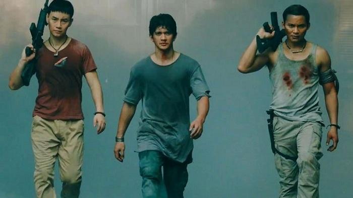 Aksi Keren Iko Uwais dalam Film Hollywood Terbaru Triple Threat