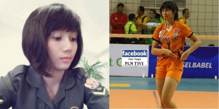 Mengenal Rindy Puspaningrum, Atlet Voli Cantik yang Juga Anggota TNI