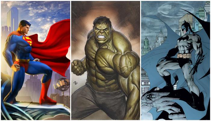 Hulk Melawan Superman dan Batman, Siapa yang Menang?