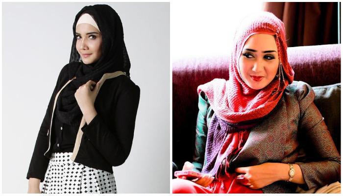Mengintip Gaya Hijab Zaskia Sungkar dan Dian Pelangi, Siapa Paling Kece?