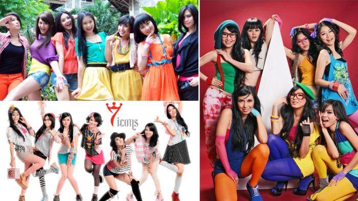 Masih Ingat Girlband 7 Icons? Begini Penampilan Mereka Sekarang