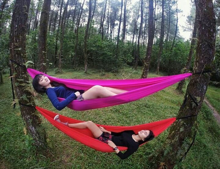 5 Spot Hammock Paling Kece di Nusantara untuk Tiduran Santai Sambil Selfie