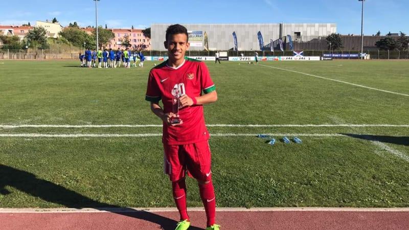 Masuk Daftar Calon Pemain Bola Terbaik Dunia, Ini Video Aksi Egy Maulana Vikri