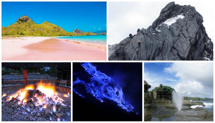 5 Fenomena Alam Unik di Tempat Wisata Ini Cuma Ada di Indonesia