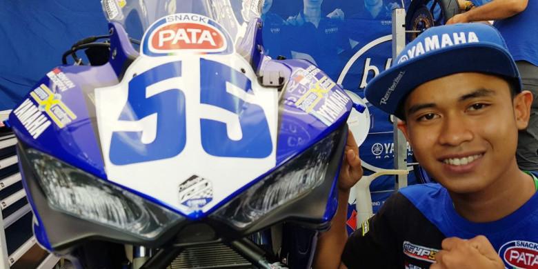 Jadi Pembalap Pertama Indonesia yang Juara di Luar Negeri, Ini Potret Aksi Galang Hendra