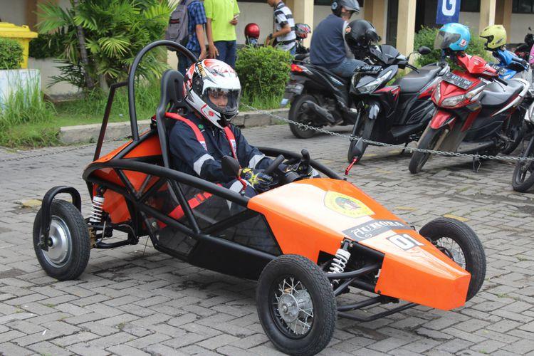 Aurora 01, Mobil Listrik Keren Karya Mahasiswa Surabaya