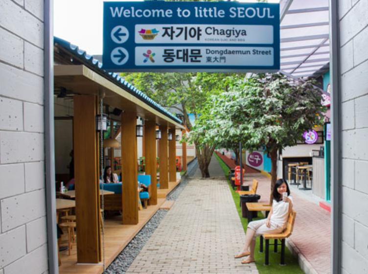 Kulineran Seru di Little Seoul Bandung yang Jadi Replika Negeri Korea