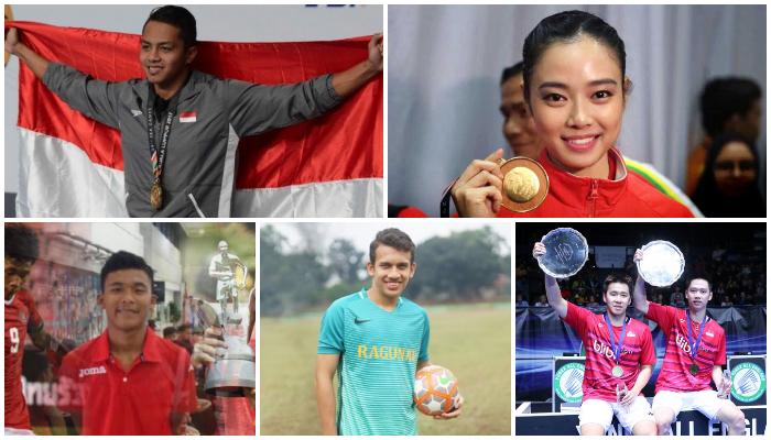 Inilah 5 Atlet Indonesia Paling Bersinar dan Berprestasi Sepanjang 2017