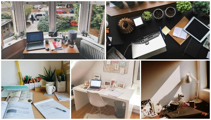 5 Inspirasi Dekorasi Meja yang Bikin Kamu Makin Enjoy Belajar