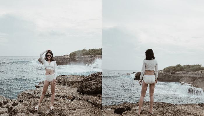 Pemandangan Keren di Devil's Tears Bay Bali, Namanya Seram Tapi Tempatnya Bak Surga