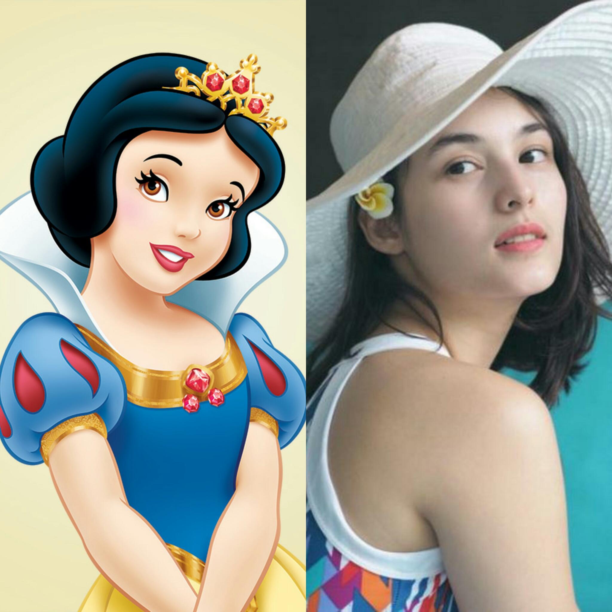 FOTO : Para Seleb yang Mirip Karakter Putri Disney, Lebih Cocok Siapa?