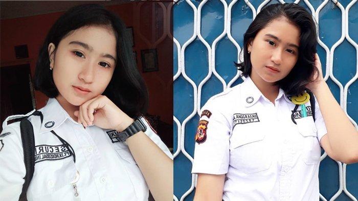 Suka dengan yang Berbau Militer, Begini Kisah Satpam Cantik di Subang yang Jadi Berita
