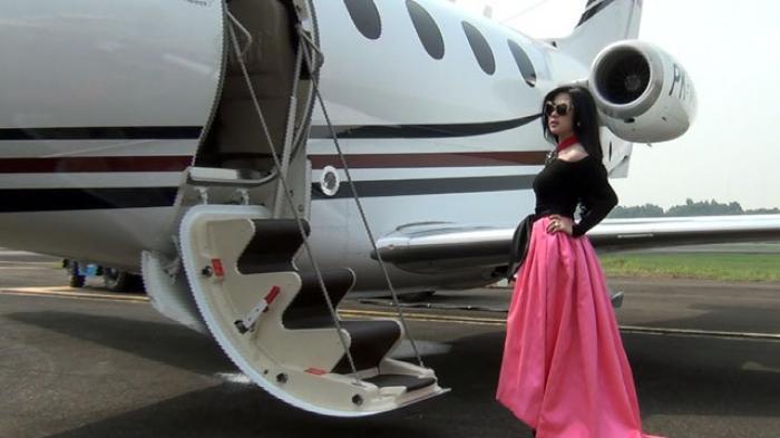 Tajir Melintir, Sederet Seleb Indonesia Ini Miliki Jet Pribadi