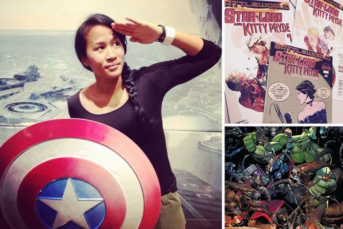 Alti Firmansyah, Ilustrator Cewek Asal Indonesia Penggambar Komik Marvel